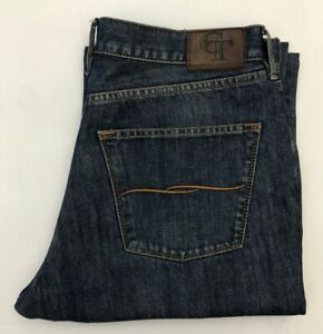 Men-039-s-Charles-Tyrwhitt-CASUAL-BLU-BOTTONE-Jeans-W36-L32