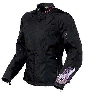 Scorpion EXO Maia Women/'s Motorcycle Jacket Size L Large Lg Black