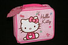 Hola Gatito Rosa Almuerzo Bolso Nuevo Acolchado Aislado Lunchbox Sanrio Con Licencia