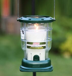 coleman citronella candle lantern bug mosquito insect repellent camping patio. Black Bedroom Furniture Sets. Home Design Ideas