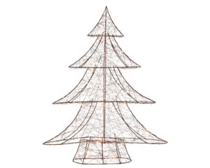 Wire Christmas Tree.Details About 60cm Copper Wire Christmas Tree With Warm White Lights Modern Decor