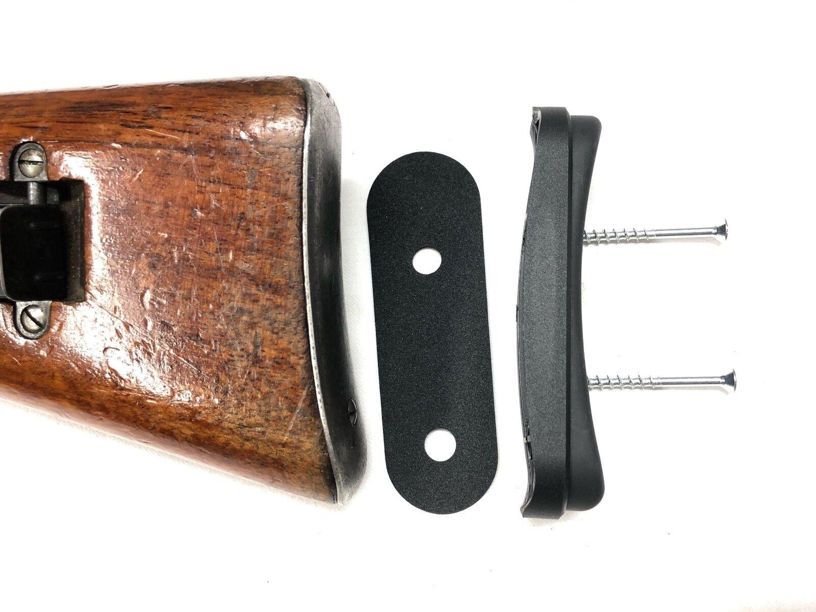 Schmidt RUBIN K31 Recoil Pad Extension Set - 15 mm-Mod Wyss Fabriqué en Suisse