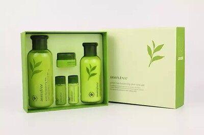 Innisfree Green Tea Balancing Skin 200ml+Lotion 160ml Gift Set Korean Skin care