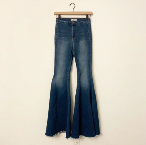 Free People Just Float On Flare Jeans Jericho 25 F