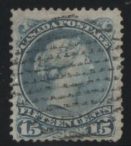 MOTON114-30b-Large-Queen-15c-Canada-used-well-centered