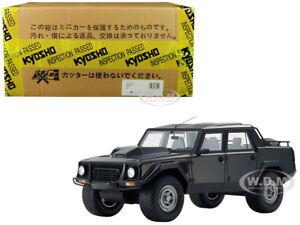 Lamborghini Lm002 Black 1 18 Model Car By Kyosho Ksr 18508 Bk