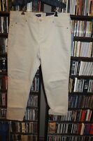 Nydj Not Your Daughters Jeans Beige Cream Ankle Jeans Pants 16p 16 P (bin90)