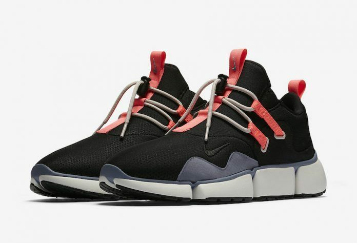 NikeLab Pocketknife DM 910571-001, noir Hot Punch Dark Sky bleu [ Multi