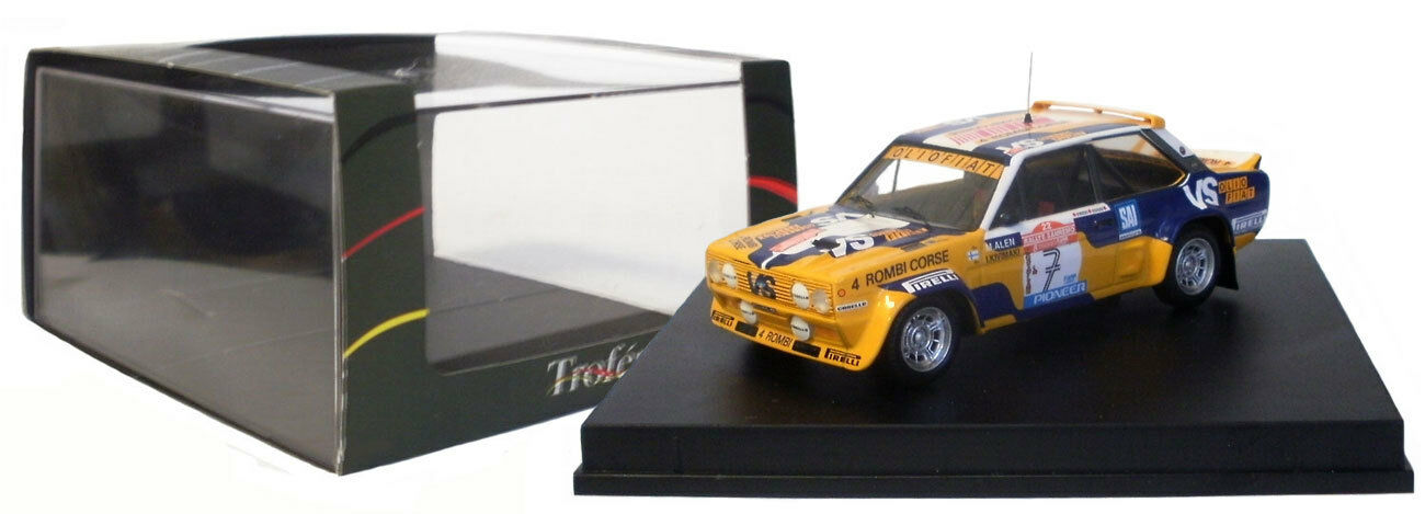 Trofeu 1416 FIAT 131 Abarth Rallye San Remo 1980-Markku alen, échelle 1 43,