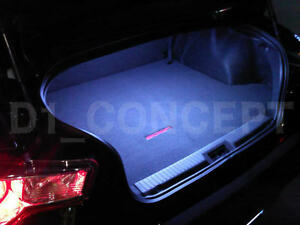 Toyota Ft86 Scion Frs Subaru Brz Trunk Cargo 12 Smd Led 15 Light