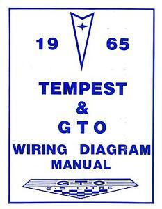 details about 1965 65 gto tempest wiring diagram manual 1971 Pontiac Tempest