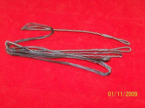 "65# Custom Amo 58 Longbow String Fast Flyte 18 Strand 54.5/"" String Black 50#"