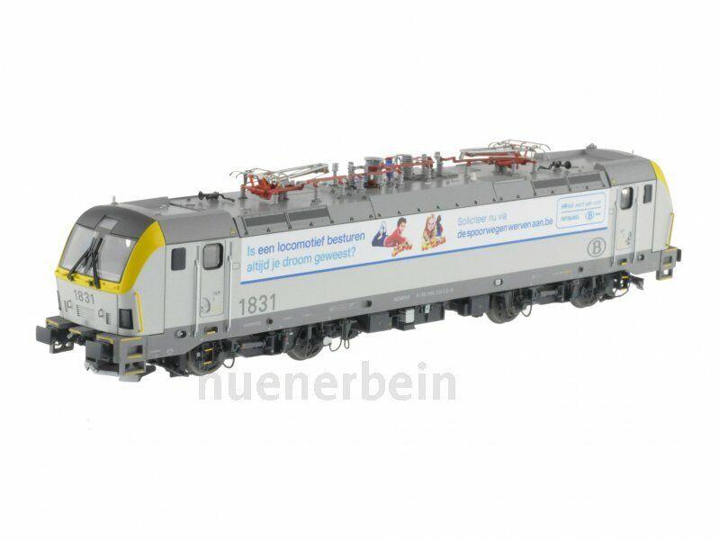 LS modellos 12217 SNCB eLok Type 18 pressione pubblicitari Ostenda Infrabel DC ep6 NUOVO
