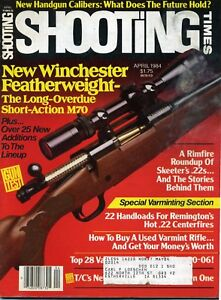 SHOOTING-TIMES-Magazine-April-1984-New-Winchester-Featherweight