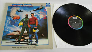 IRON-EAGLE-SOUNDTRACK-QUEEN-DIO-HELIX-LP-VINYL-VINILO-1986-VG-G-SPANISH-EDIT