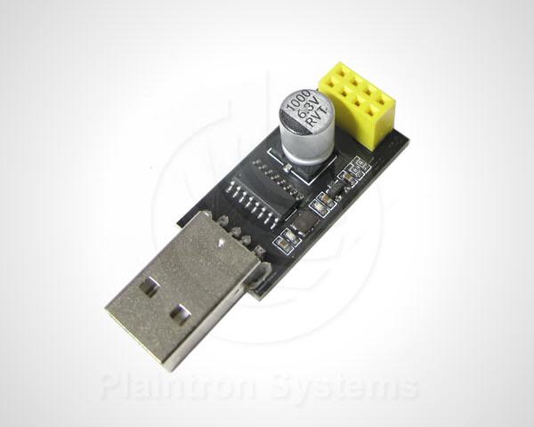 USB-Seriell UART Adapter Breakout ESP-01 ESP8266 Programmer, Testplatine CH340G