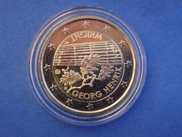 "2 Euros Commémo. Finlande 2016 "" Georg Henrik Von Wright "" Neuve Sous Capsule"