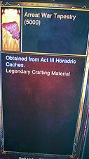 DIABLO 3 NEW CRAFT MATERIALS KANAI'S CUBE 25000 OF EACH XBOX ONE 2.3 Softcore