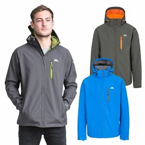 Trespass-Nider-Mens-Windproof-Softshell-Jacket-Breathable-Hooded-Hiking-Coat