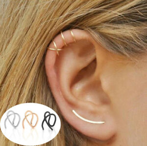 1pc-Spiral-Wrap-No-Piercing-Earrings-Cuff-Cartilage-Ear-Studs-Clip-On-Earring