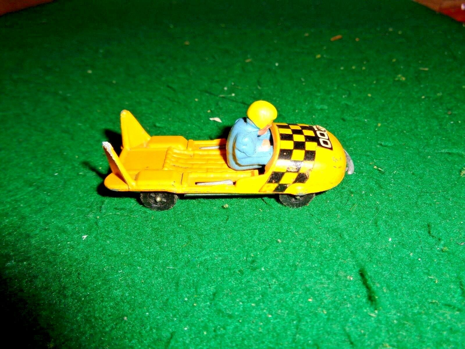 Vintage Corgi Junior Whizzwheels James Bond BOBSLEIGH made in Great Britain
