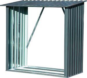 Metall-Kaminholzregal-034-Madera-034-Feuerholzregal-Brennholzregal-Kaminholzstaender