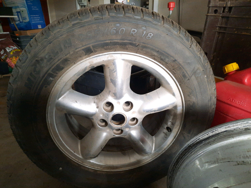 18 inch Land Rover Discovery 2 & 3 rims for sale
