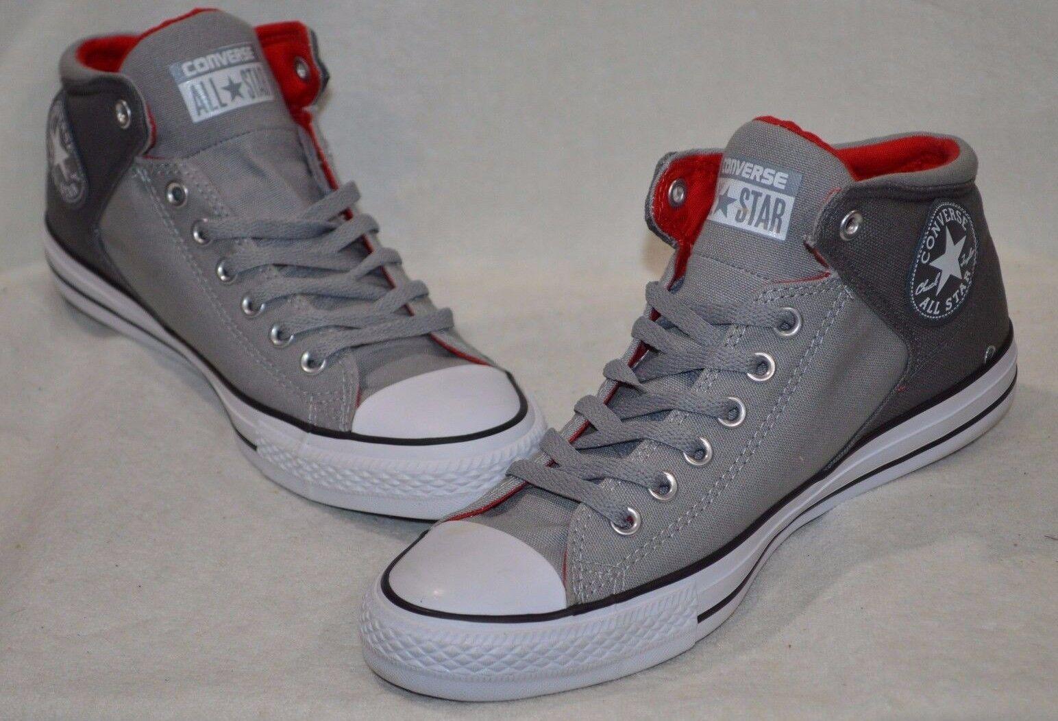 Hombres Converse Delfín/Thunder/Rojo Ct como High Street Delfín/Thunder/Rojo Converse Zapatos Nuevas Con Caja f9c236