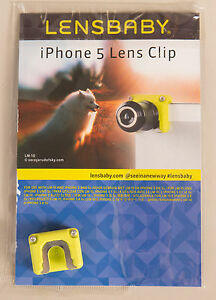 Lensbaby Lens Clip for an Iphone 5 or 5s FOR USE WITH Lensbaby LM-10 20 30 Lense