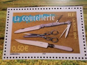FRANCE-2004-timbre-3646-REGIONS-LA-COUTELLERIE-neuf-VF-MNH-STAMP