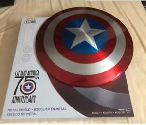 Marvel-Legends-Captain-America-75th-Anniversary-1-1-Metal-Shield-Cosplay-By-DHL