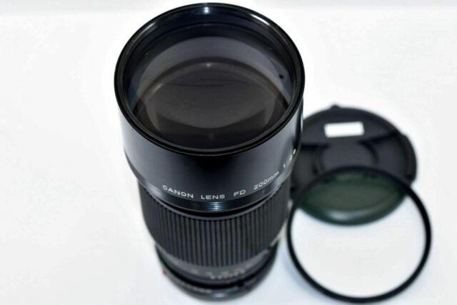 [Exc+4] Canon New FD NFD 200mm f2.8 MF SLR Telephoto Lens