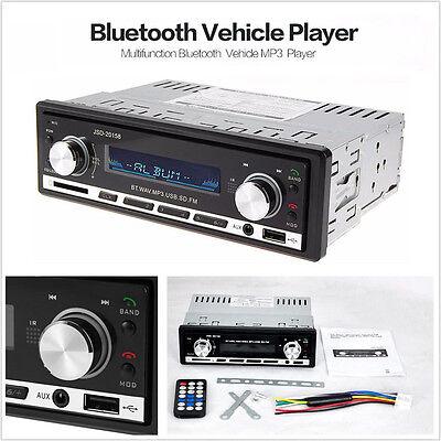 FM USB-MP3-Radio-Player Aux-Eingang Empf/änger Miss-an Autoradio Bluetooth-Stereo-Player MP3 USB//SD