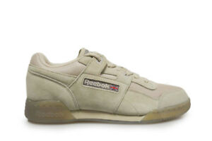 11bc9e81559 Image is loading Unisex-Reebok-Workout-Plus-TN-BS8440-Beige-Trainers