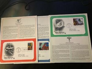 1993-US-First-Day-Cover-29-Cent-Space-Fantasy-Set-January-25-PCS