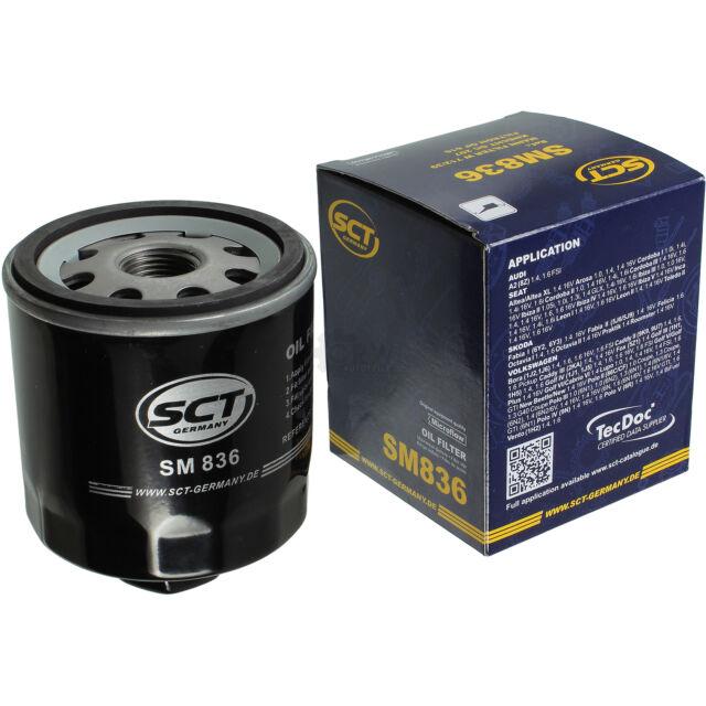 Original SCT Ölfilter Öl Filter Oil SM 836