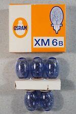 OSRAM Vacublitz XM 6B, 5 Stück Blitz-Birnen new + boxed / neu + originalverpackt