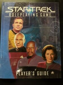 1x-Star-Trek-Roleplaying-Game-Player-039-s-Guide-Used-Good-RPG-Other