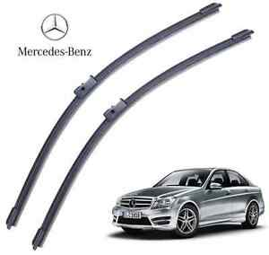 Mercedes c class w204 2008 set 24 24 made in germany for Mercedes benz c300 wiper blades
