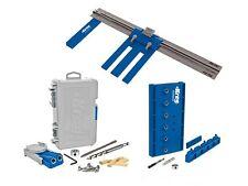 Kreg DIYKIT DIY Project Woodworking Kit W/ Rip Cut Jig R3 Shelf Pin Jig