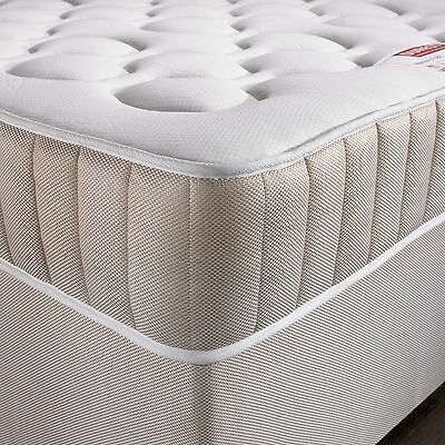 exclusive bed-world 3ft single 4ft6 double 5ft king memory foam sprung mattress