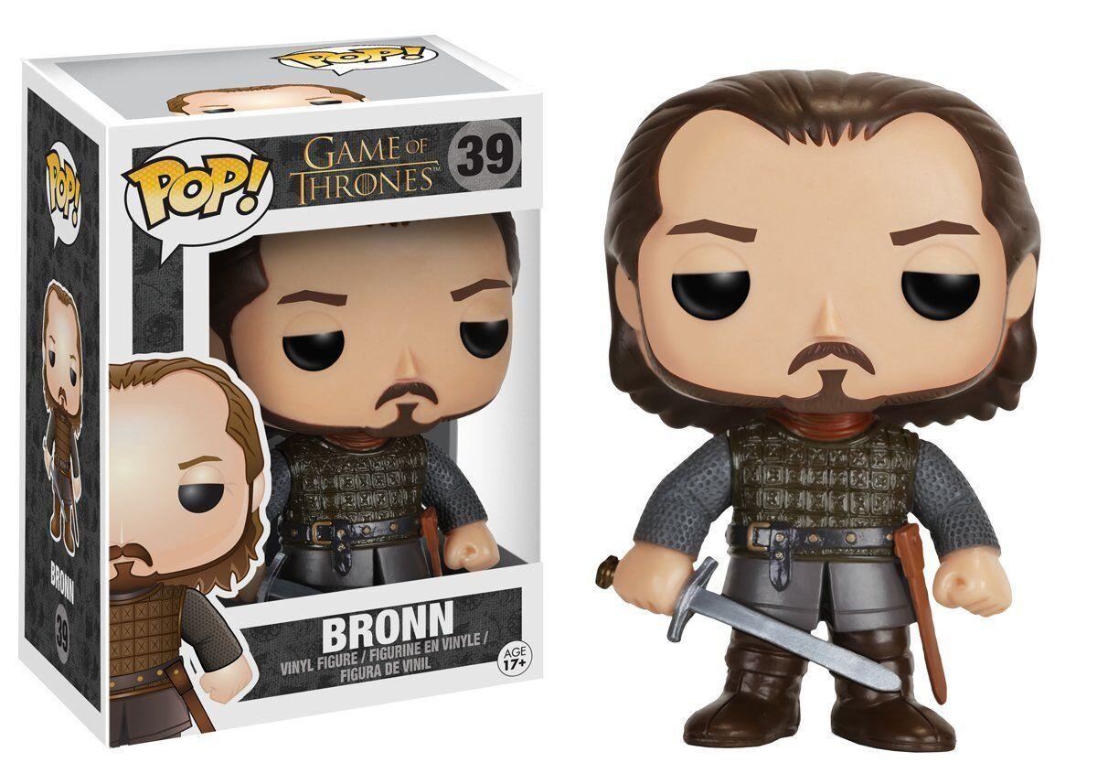 POP  Game of Thrones Bronn Bronn Bronn Vinyl Figure by Funko 931c75