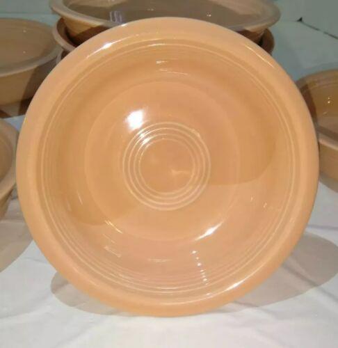 "Fiesta Ware /'Apricot/' 6 7//8/"" Medium Bowls Homer Laughlin Fiestaware Pink Retired"