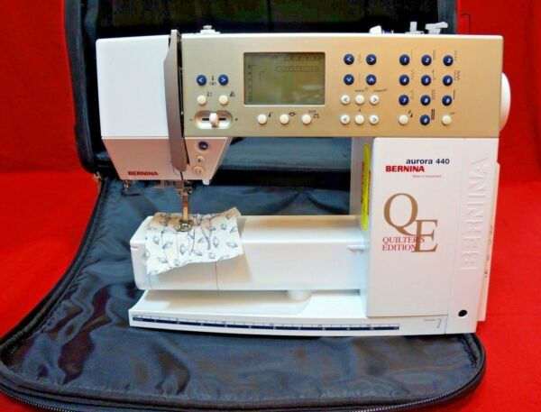 Bernina aurora 440 qe quilters edition sewing machine(id:4167553.