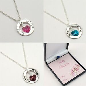 Birthday-Necklace-for-Mum-Mummy-Sister-Daughter-etc-Birthstone-Necklace