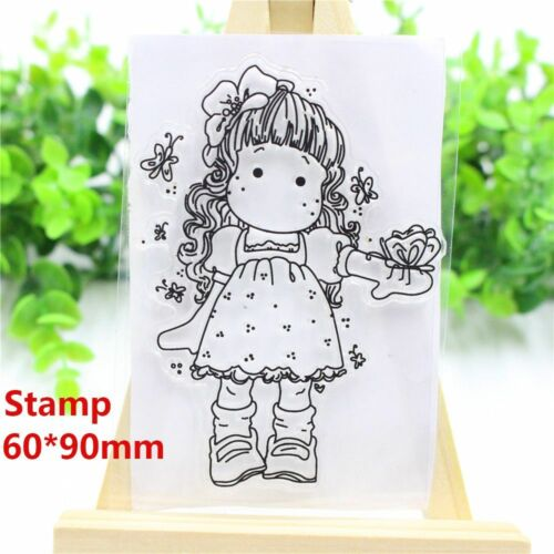 Girl Stamps DIY Crafts Cutting Dies Stencils Scrapbooking Embossing Cards Paper