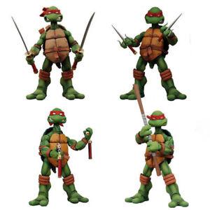 4PCS Revoltech TMNT Teenage Mutant Ninja Turtles PVC Action Figure A88L