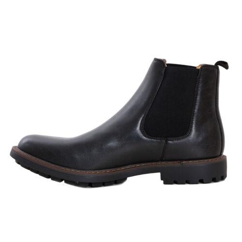 Botines Hombre Zapatos Chelsea Beatles Botas Safari Militares Elegantes 36E