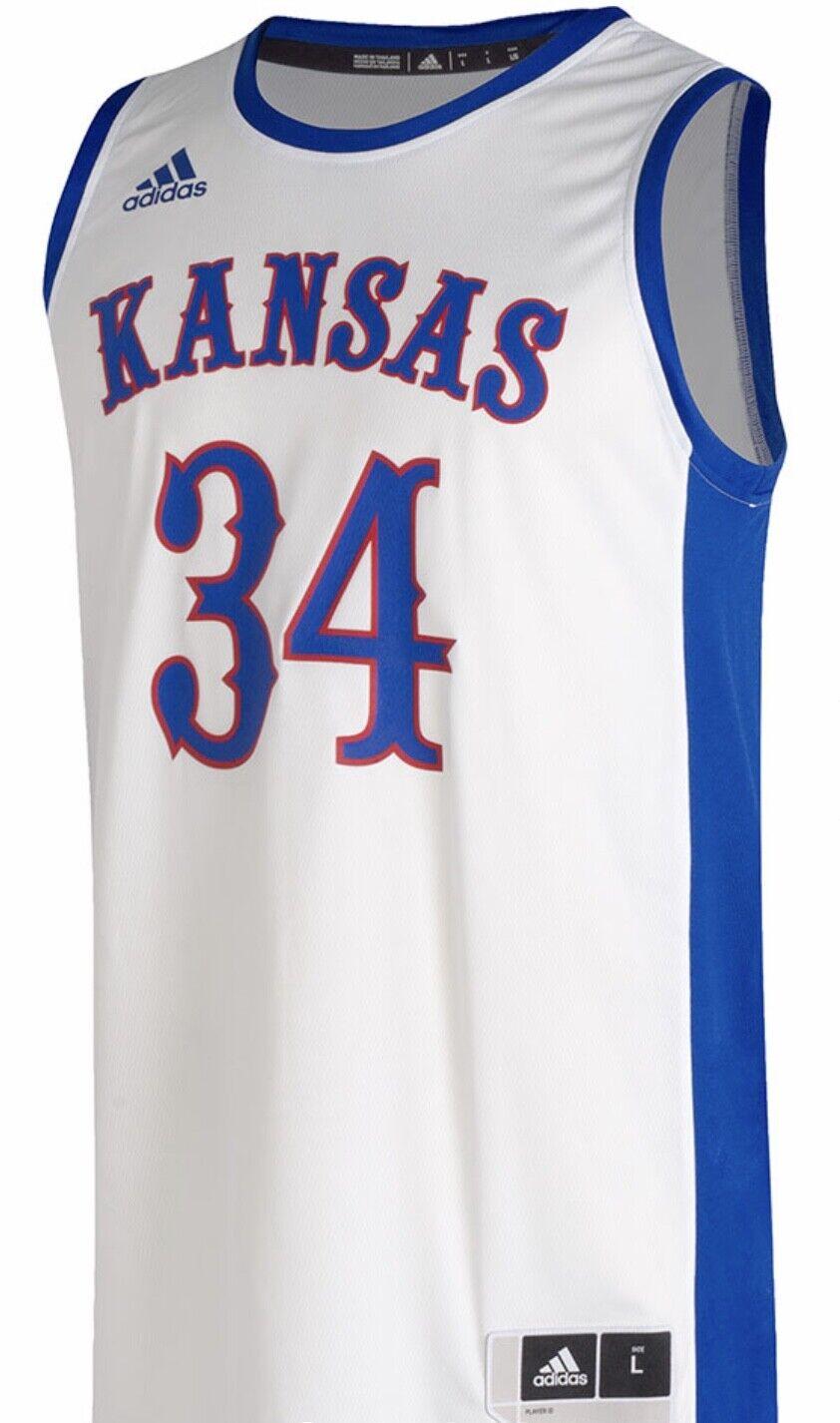 adidas Kansas Jayhawks Sz M Swingman Paul Pierce Basketball Jersey ...