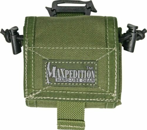 Maxpedition Rollypoly mm pliant Dump Pouch diamètre extérieur vert 0208 G